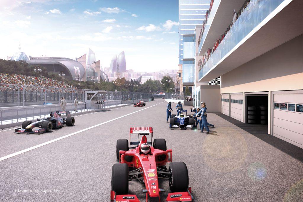 F1グランプリが初開催となったアゼルバイジャンの首都バクー